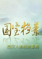 国宝档案:西汉人体经脉漆俑